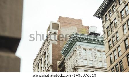 Philladelphia Building/ Skyline (Color) Street Level