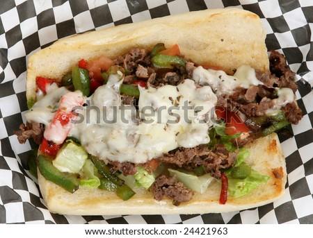 Philly Cheese Steak Sub