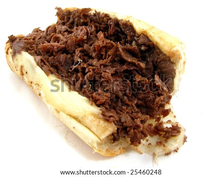 Philly Cheesesteak - stock photo
