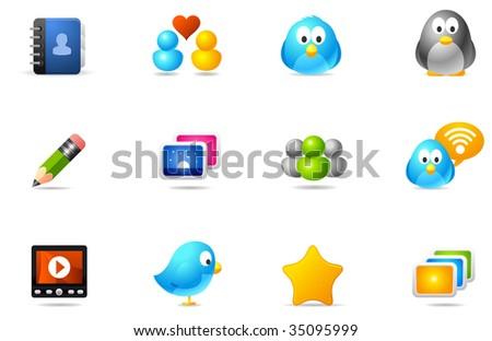 Philos icons - set 10 | Social Media
