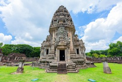 Phimai Castle It is an ancient Khmer style stone castle. Located in Phimai District Nakhon Ratchasima Province It consists of a large and beautiful stone castle in the Khmer Empire.Thailand