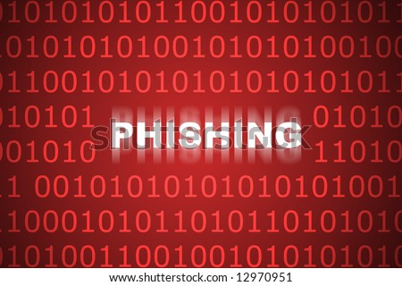 Phishing Abstract Background in Web Security Series Set