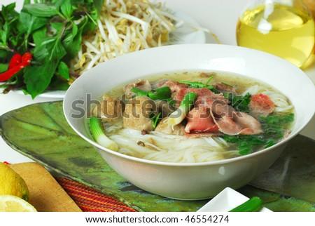 pho tai Vietnamese