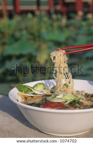Pho, Traditional Vietnamese Noodle Soup
