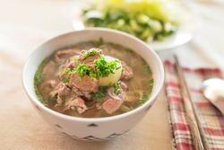 Pho (Vietnamese food) - Beef noodle soup