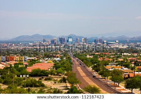 Phoenix Arizona - stock photo