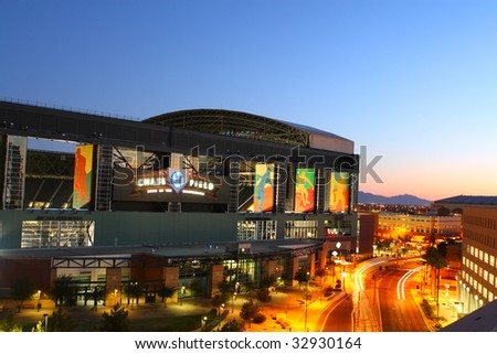 PHOENIX, AZ - JUNE 21: Chase Field opened in the Spring of 1998 to house the Arizona Diamondbacks in Phoenix, AZ is shown with both the top and side windows open on June 21, 2009