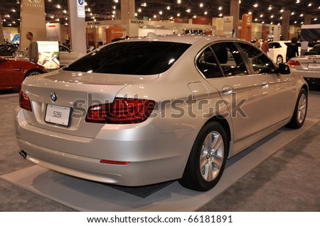 PHOENIX, AZ - NOV 25: BMW Sedan at the Arizona International Auto Show on November 25, 2010 in Phoenix, Arizona