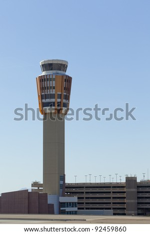 Phoenix Skyharbor airport traffic control tower