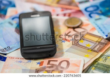 Phone and money, mobile banking and payments