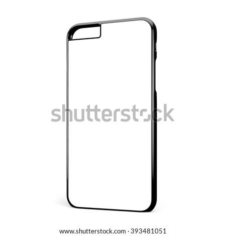Phone case on white background #393481051
