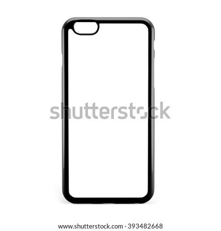 Phone case on white background #393482668