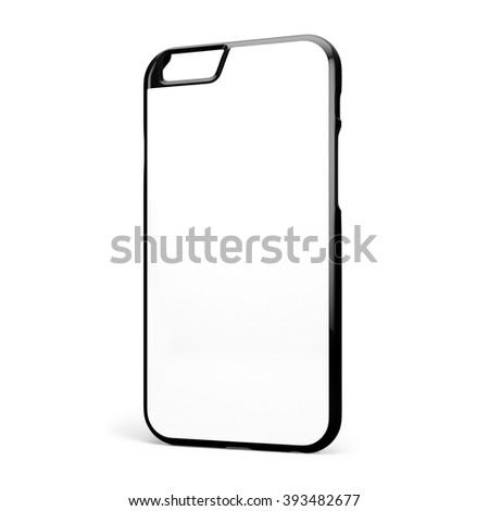 Phone case on white background #393482677