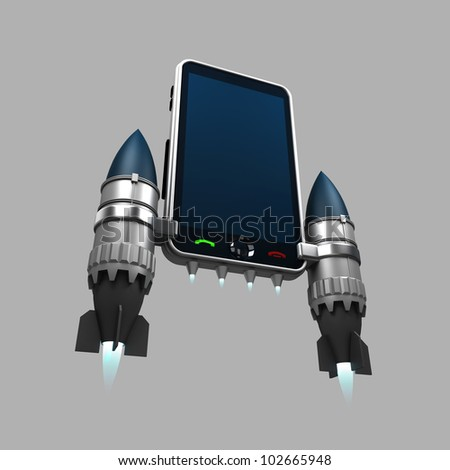 http://image.shutterstock.com/display_pic_with_logo/543340/102665948/stock-photo-phone-fast-rocket-102665948.jpg