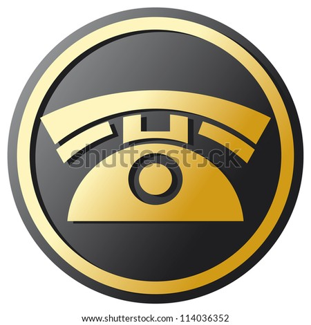 Phone Icon (telephone icon, phone button)