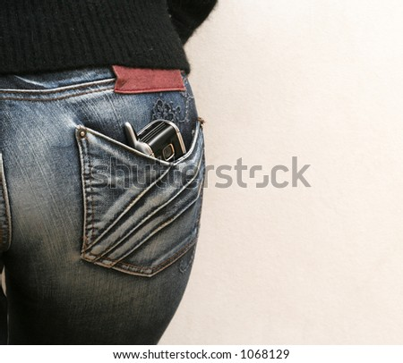 Phone in back pocket