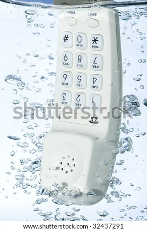 Phone in water