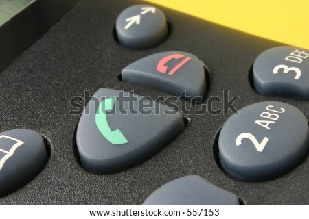 "Phone keypad #2, focus is set on the ""call"" button"