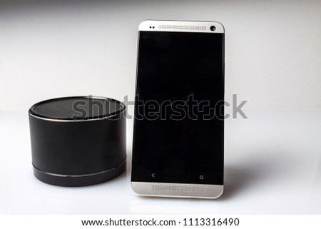 Phone portable speaker #1113316490