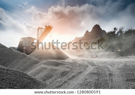 Phosphate mine processing mill