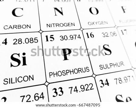 Free Photos Symbol Of Phosphorus Avopix
