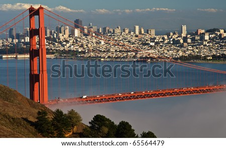 photo beautiful golden gate bridge in san francisco
