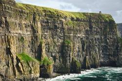photo beautiful scenic landscape from the west coast ireland