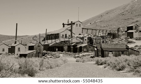 photo bodie national state park, ca, usa
