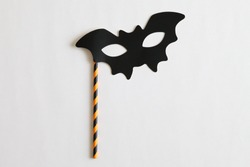 Photo booth colorful props for Halloween party - Bat