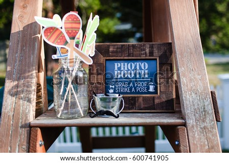 photo booth props #600741905