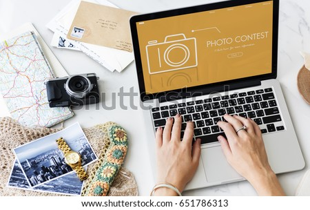 Photo Contest Passion Image Memory Word #651786313