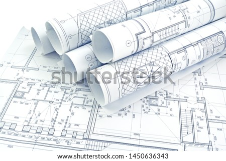 Photo drawings for the project engineering work  #1450636343