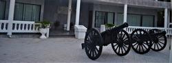 photo early Rattanakosin artillery Chonburi Province, Thailand