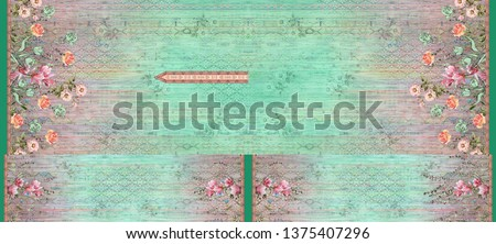 photo flower kurti color pattern image digital colorful graphics cute illustration