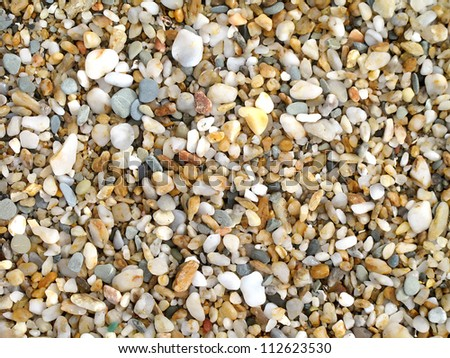Photo for wallpaper with rocks eroded from the beach