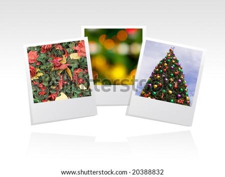 photo frame for xmas season