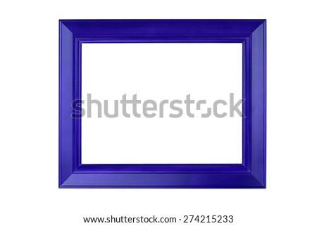 Photo frame isolate on white background