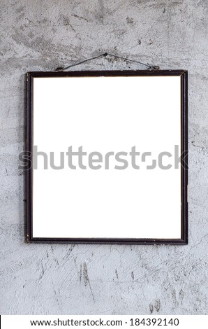 Photo frame wall , Photo frame wall plaster , Photo frame wall old , Photo frame wall vintage