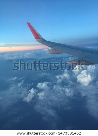 Photo from the Sky, Airplane Pic