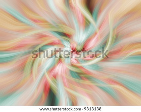 Photo illustration abstract of flowing colors for use as a background or added texture.