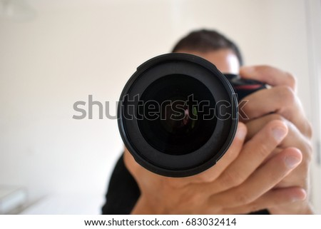 Photo in the mirror #683032414