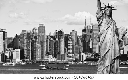 photo new york city black and white hi contrast
