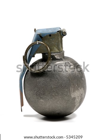 Photo of a Hand Grenade - Weapon / War Related