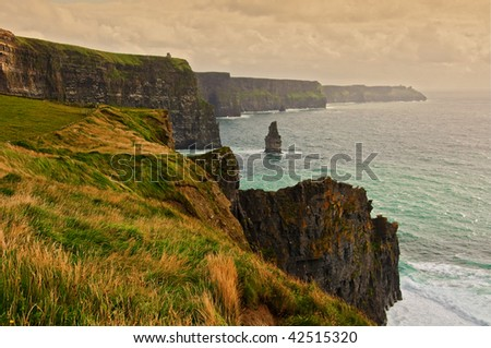 photo of a scenic seascape on the west coast of ireland