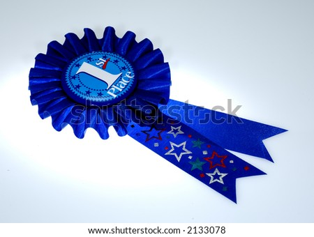 Photo of a 1st Place Award Ribbon