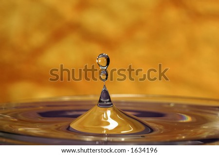 Photo of a Water Drop
