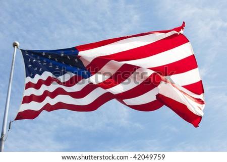 american flag waving video. american flag waving video. us