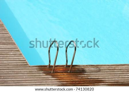 Photo of an empty pool