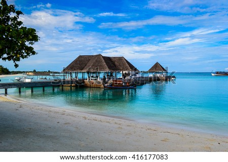 photo of beauty Maldives islands