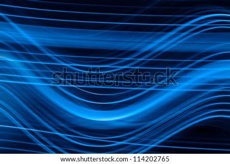 photo of blue light